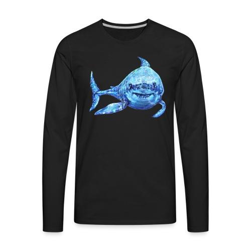 sharp shark - Men's Premium Long Sleeve T-Shirt