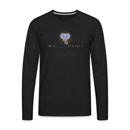 pro_logo_png_444444 - Men's Premium Long Sleeve T-Shirt