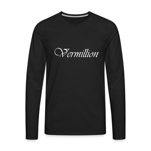 Vermillion T - Men's Premium Long Sleeve T-Shirt