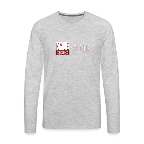 Logo - Men's Premium Long Sleeve T-Shirt