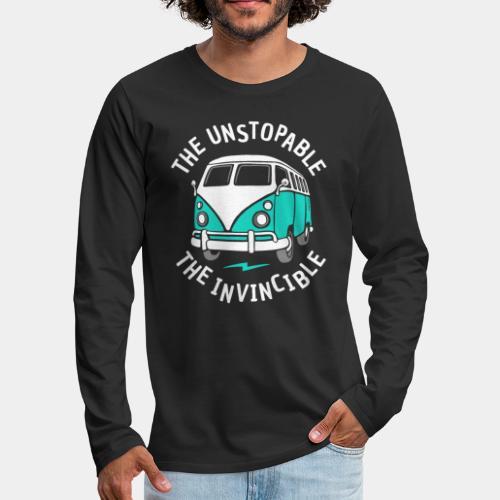 invincible van - Men's Premium Long Sleeve T-Shirt