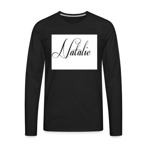 Natalie - Men's Premium Long Sleeve T-Shirt