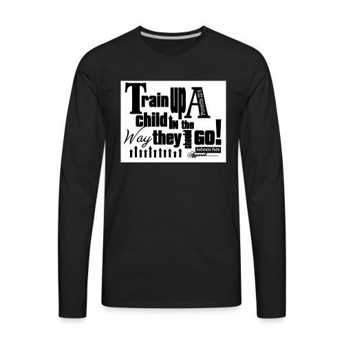 Train UP a child - Men's Premium Long Sleeve T-Shirt