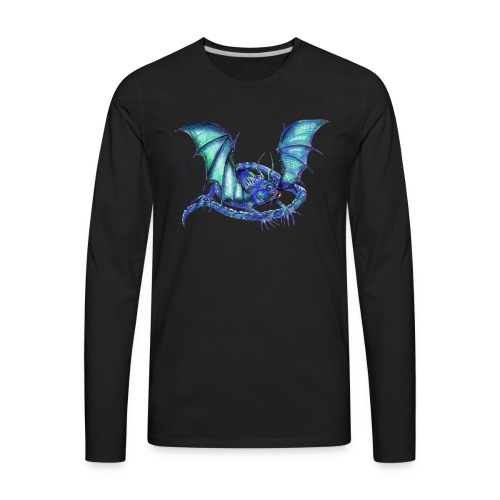 lizard dragon - Men's Premium Long Sleeve T-Shirt
