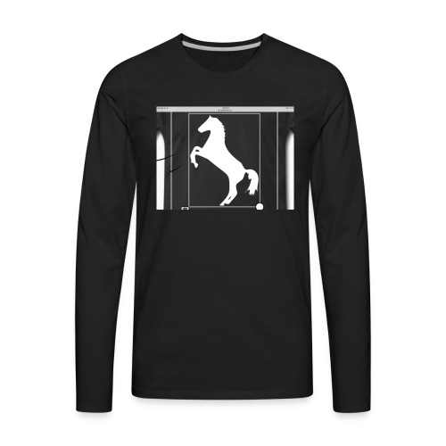 Horse merch - Men's Premium Long Sleeve T-Shirt