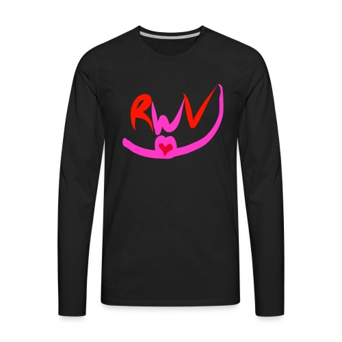 happy valentines merch - Men's Premium Long Sleeve T-Shirt