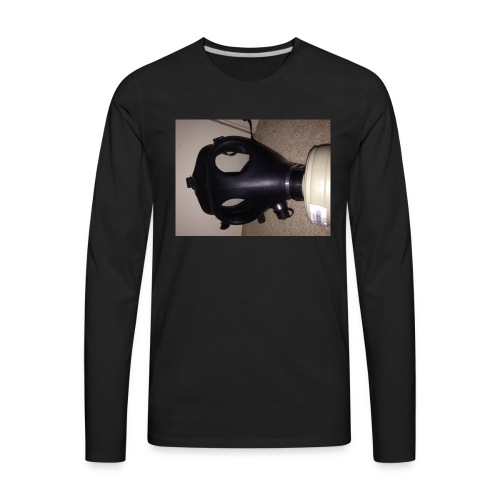 4A1 gas mask shirt is cool and unique! - Men's Premium Long Sleeve T-Shirt