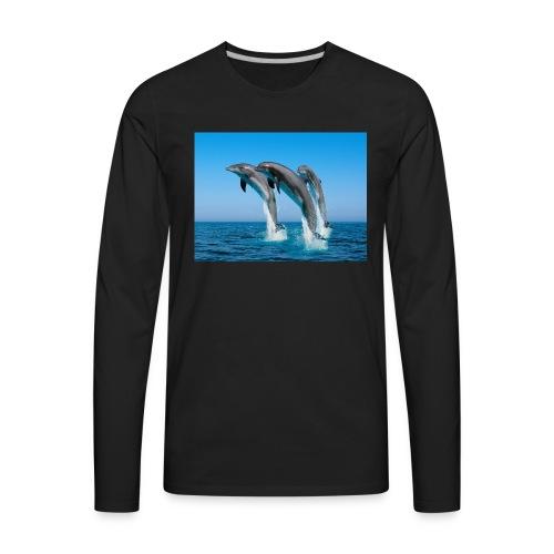 Dolphins For LIFE - Men's Premium Long Sleeve T-Shirt