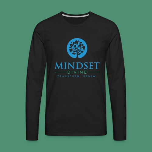 Mindset Divine logo 01 - Men's Premium Long Sleeve T-Shirt