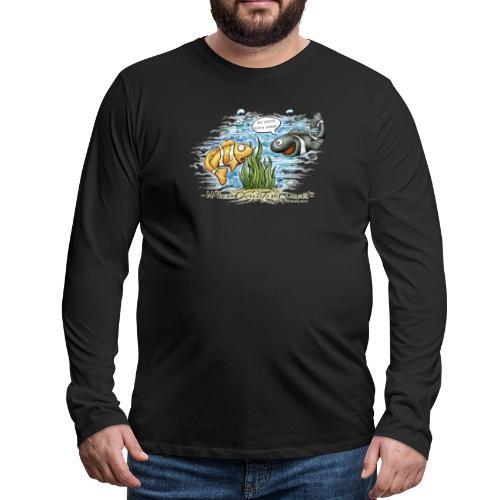 when clownfishes meet - Men's Premium Long Sleeve T-Shirt