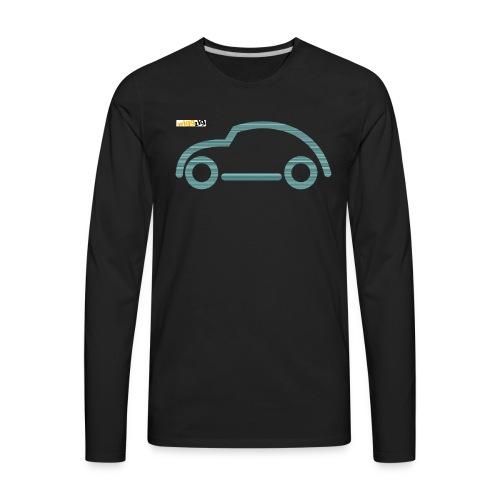oldimer silhouette green - Men's Premium Long Sleeve T-Shirt