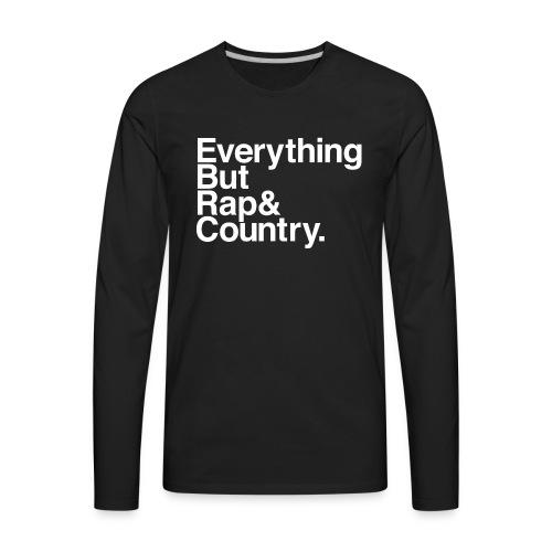 My Favorite Music (for the ladies) - Men's Premium Long Sleeve T-Shirt