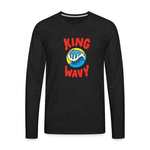 KYLE - King Wavy - Men's Premium Long Sleeve T-Shirt