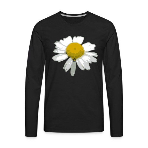 Daisy - Men's Premium Long Sleeve T-Shirt