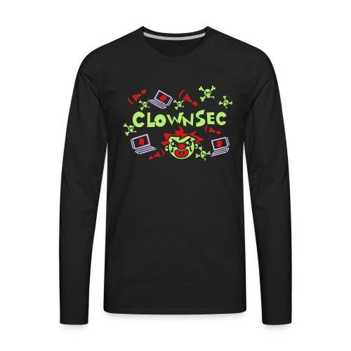 The Clown Hacker - Men's Premium Long Sleeve T-Shirt