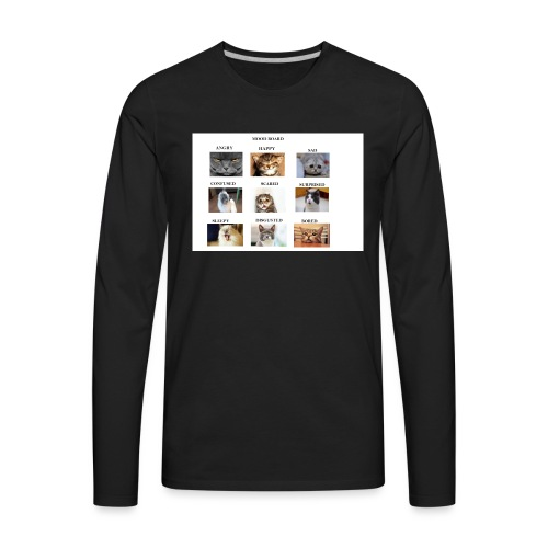MOOD BOARD - Men's Premium Long Sleeve T-Shirt