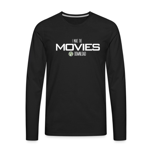 Movie Download - Men's Premium Long Sleeve T-Shirt
