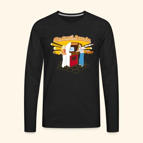 Master of the Arcade - Men's Premium Long Sleeve T-Shirt
