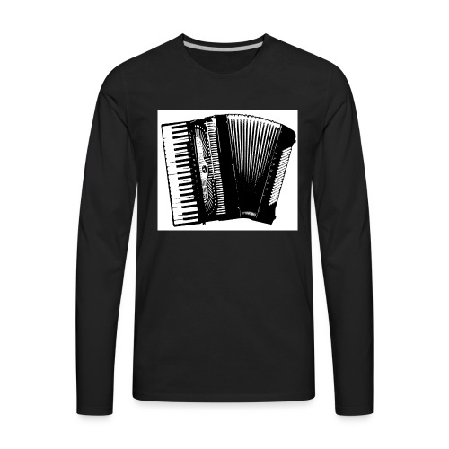 Accordian - Men's Premium Long Sleeve T-Shirt