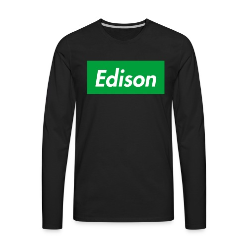 Edison3/10/17 - Men's Premium Long Sleeve T-Shirt