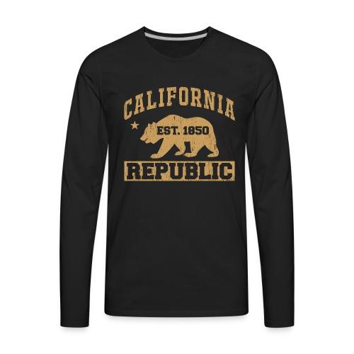 California Republic - Men's Premium Long Sleeve T-Shirt