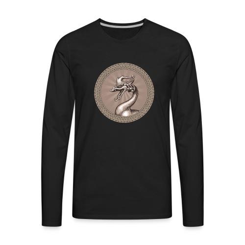 Laughing Dragon - Men's Premium Long Sleeve T-Shirt