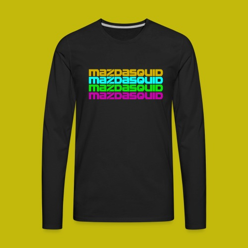 MazdaSquid Phone - Men's Premium Long Sleeve T-Shirt