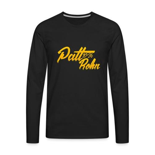 Patt Rohn 2036 Golden - Men's Premium Long Sleeve T-Shirt