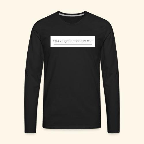 Friend - Men's Premium Long Sleeve T-Shirt