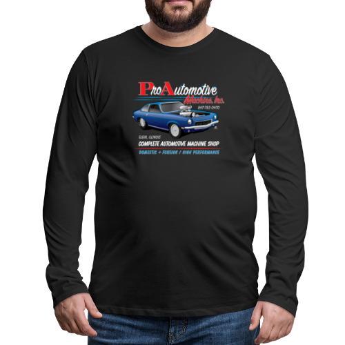 ProAutoTeeDesign062317fin - Men's Premium Long Sleeve T-Shirt
