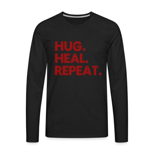 Boujie_Hug_Tee - Men's Premium Long Sleeve T-Shirt