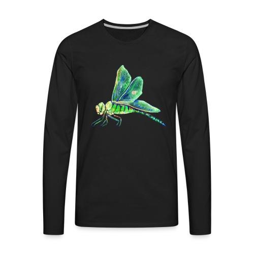 green dragonfly - Men's Premium Long Sleeve T-Shirt