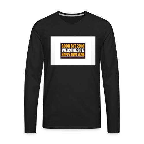 2017 - Men's Premium Long Sleeve T-Shirt