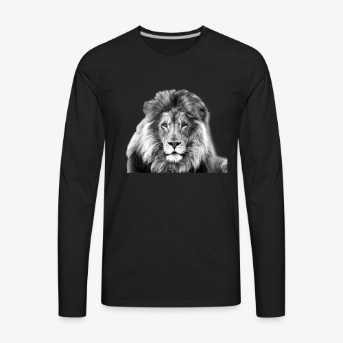 LION-7 - Men's Premium Long Sleeve T-Shirt
