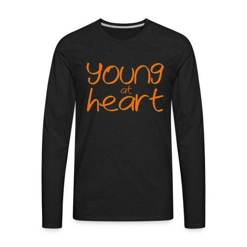 young at heart - Men's Premium Long Sleeve T-Shirt
