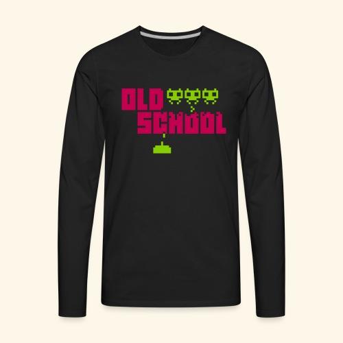 Old School - Men's Premium Long Sleeve T-Shirt