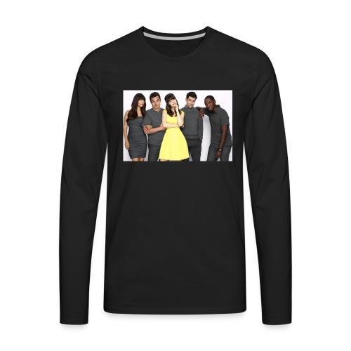 New Girl - Men's Premium Long Sleeve T-Shirt