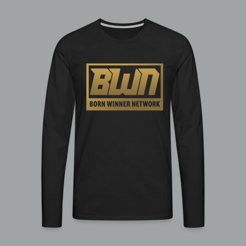 BWN (Gold) - Men's Premium Long Sleeve T-Shirt