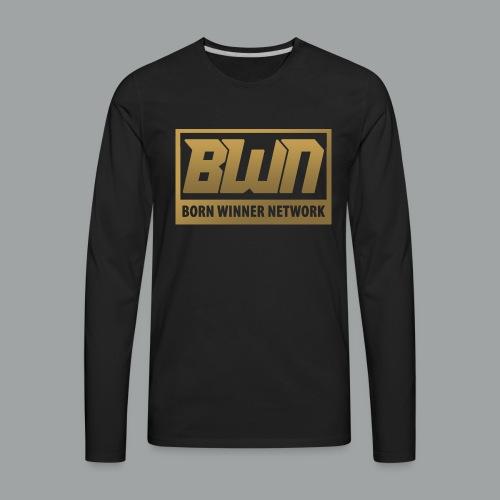 BWN (Gold) - Men's Premium Long Sleeve T-Shirt