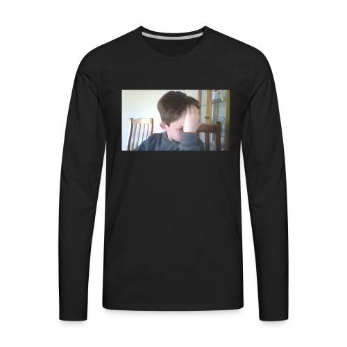 Luiz FAce!! - Men's Premium Long Sleeve T-Shirt