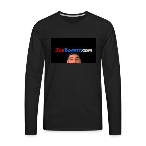 JoeBonett.com - Men's Premium Long Sleeve T-Shirt