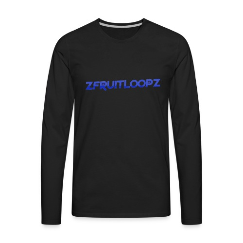 zFruitLoopz Orignal - Light Blue - Men - Men's Premium Long Sleeve T-Shirt