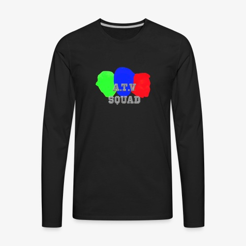 A.T.V Squad Merch - Men's Premium Long Sleeve T-Shirt