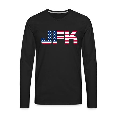 JFK - Men's Premium Long Sleeve T-Shirt