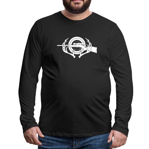 Hunting and Shooting Sports Iogo - Men's Premium Long Sleeve T-Shirt
