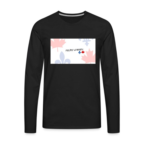 Logo do Canal - Men's Premium Long Sleeve T-Shirt