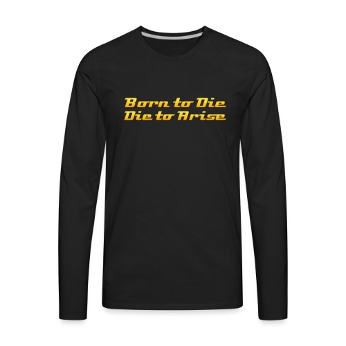BTD DTA gold - Men's Premium Long Sleeve T-Shirt