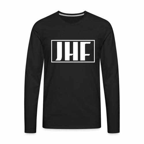 JHF logo 2 - Men's Premium Long Sleeve T-Shirt