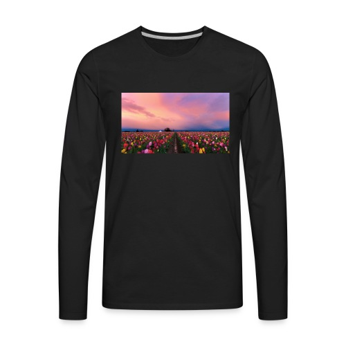 flowers - Men's Premium Long Sleeve T-Shirt