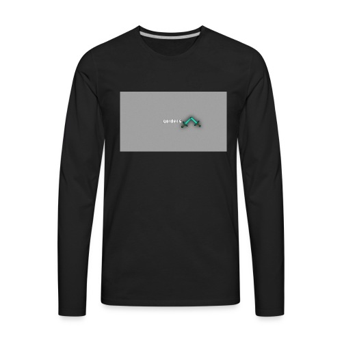 backgrounder-3- - Men's Premium Long Sleeve T-Shirt